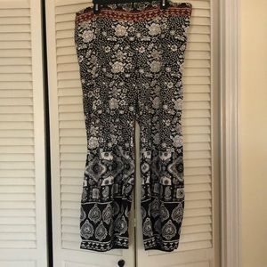 Printed fun pants